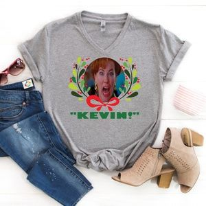 Kevin! Home Alone Christmas Shirt women's S-3XL